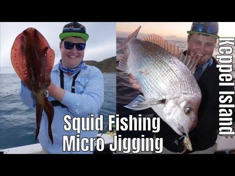 Squid Fishing And Micro Jigging Keppel Island, Yeppoon, QlD