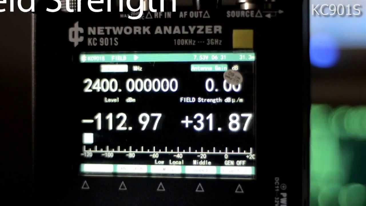 KC901S Vector Network Analyzer / RF MultiMeter Preview