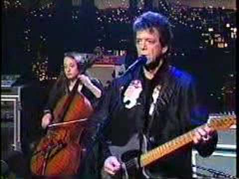 Sunday Morning - Lou Reed Live