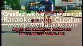 Magnum Bonum - Skateboard med text