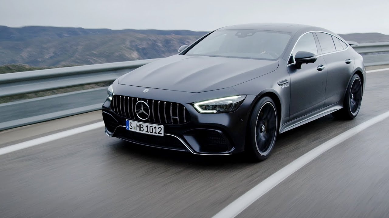 the new mercedes amg gt 63 s 4matic 4 door coupe youtube. Black Bedroom Furniture Sets. Home Design Ideas
