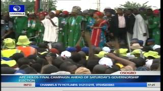 Osun Guber Election: APC Holds Mega Rally Pt.18