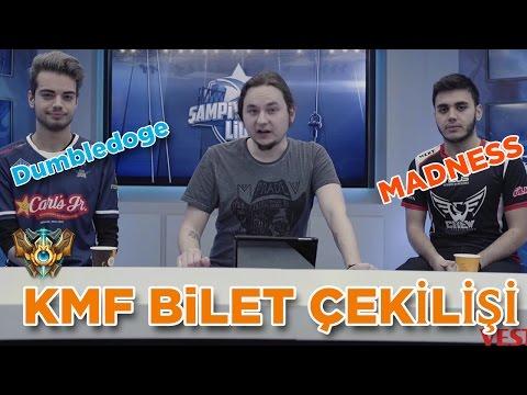 KMF 2017 ve Espor Üzerine   SUP Dumbledoge & CRW Madness   BİLET ÇEKİLİŞİ !