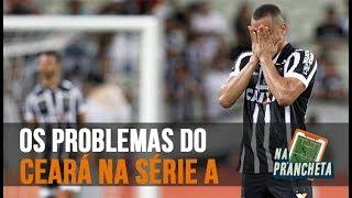 CEARÁ: OS ERROS DO ALVINEGRO NO BRASILEIRÃO | NA PRANCHETA #15