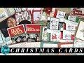 Over 21 Christmas Card Ideas from my Christmas 2018 Card Swap