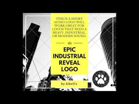 Epic Industrial Reveal Logo