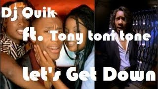 Dj Quik ft Tony Toni Tone - Let