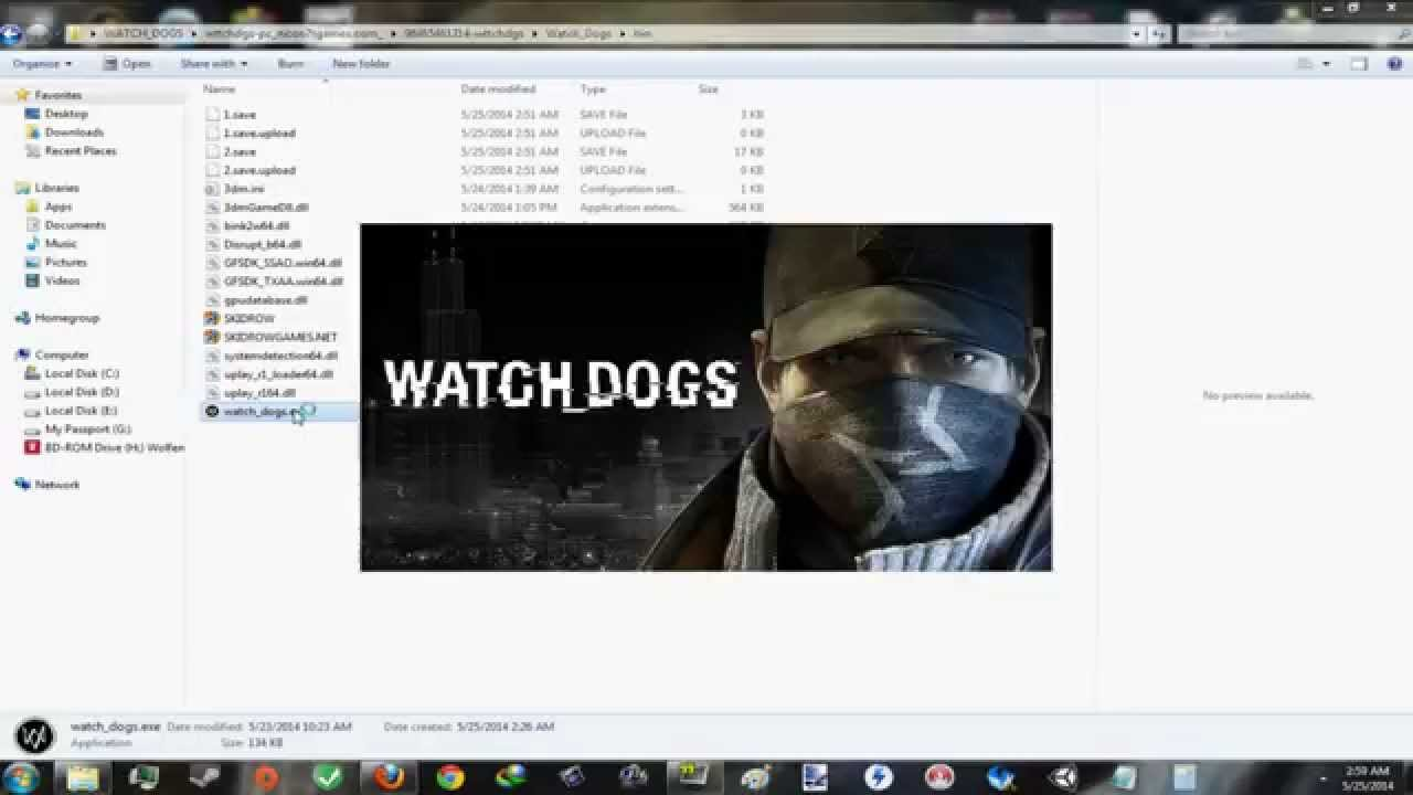 Get Watch Dogs  Free Uplay