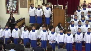 香港聖公會主誕堂五十五周年堂慶獻唱 《牧羊人的詩篇》