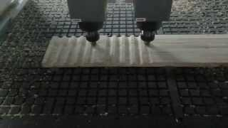 Multi-heads Woodworking Cnc Machine,3 Axis Wood Carving Cnc Router, Chinese Cnc Machine Plant