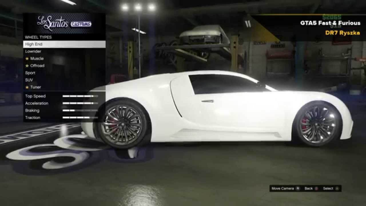 gta 5 fast and furious tyrese gibson 39 s bugatti veyron. Black Bedroom Furniture Sets. Home Design Ideas