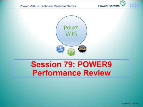 79 POWER9 Performance Review