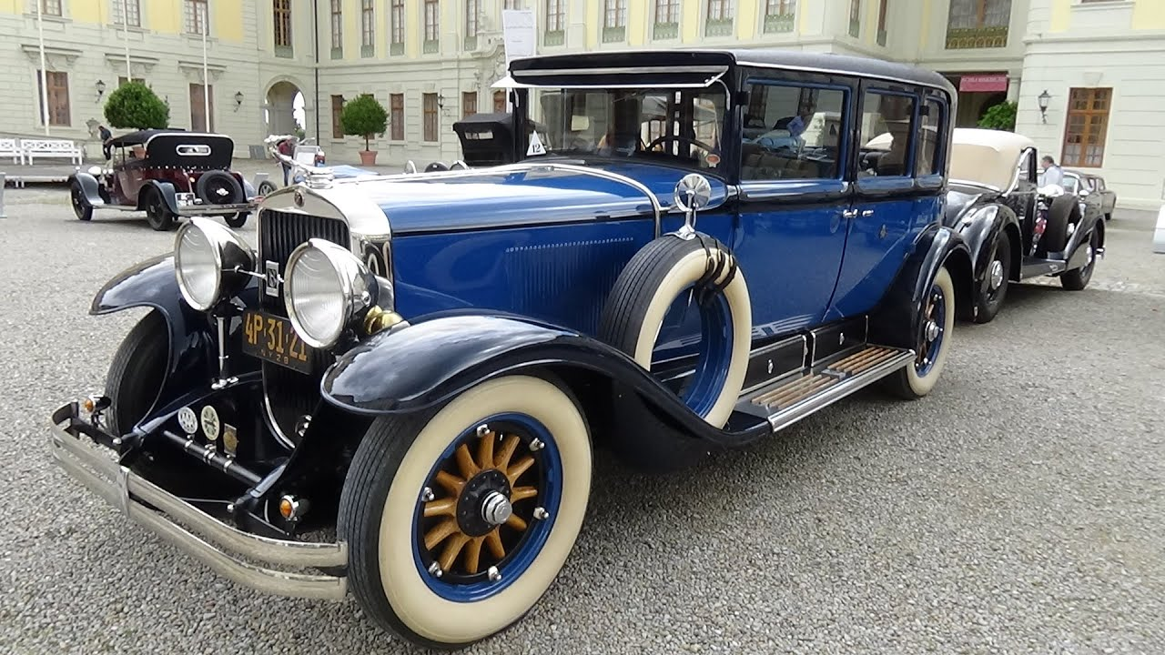 1928 Cadillac 341 A Imperial - Exterior and Interior - Retro ...