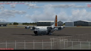 vUSAF T6 texan flight KDLF-KSAN