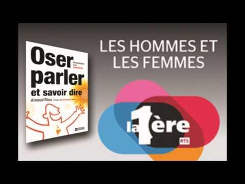 Interview Arnaud Riou - Oser parler et savoir dire - sur Radio Suisse Romande le 7/07/2012
