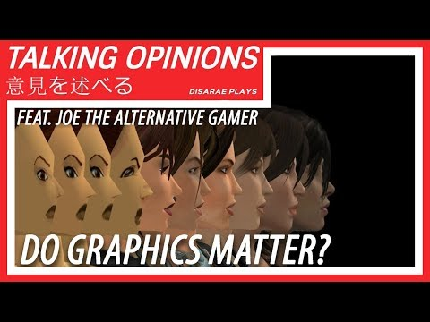 Do Graphics Matter? | Talking Opinions Feat. Joe The Alternative Gamer