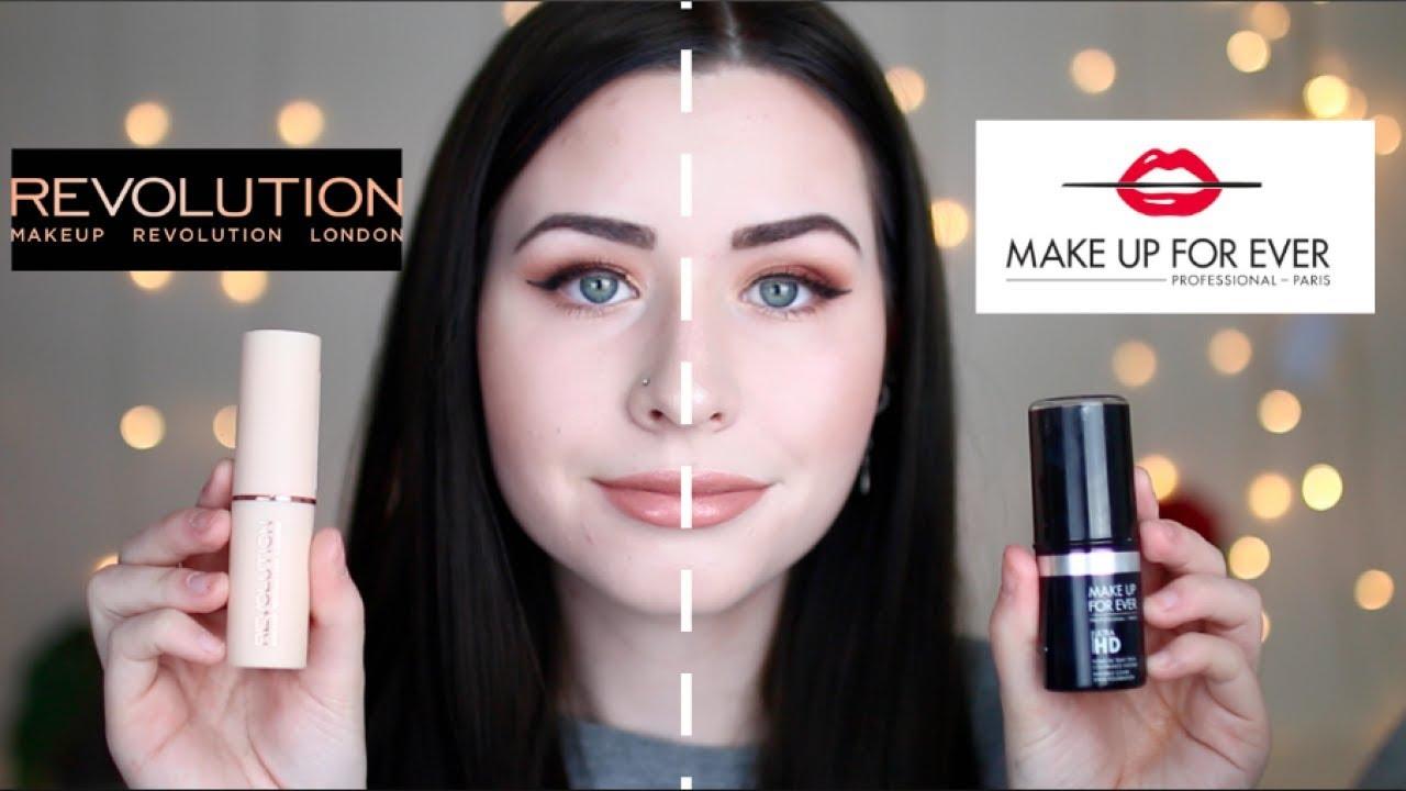 New Makeup Revolution Foundation Stick Vs Forever