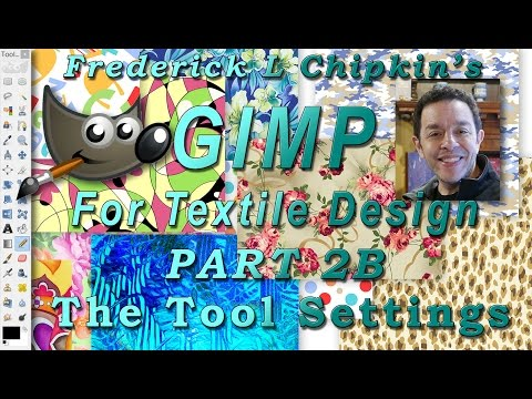 GIMP for Textile Design Part 2B - The Tool Settings