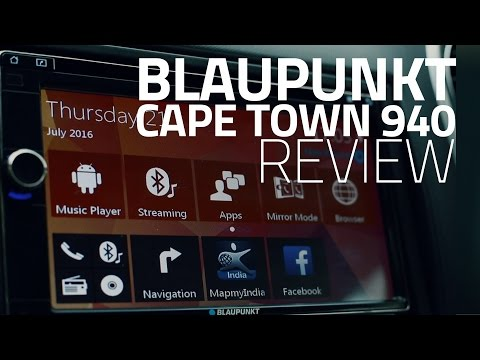 Blaupunkt Capetown 940 In-Car Entertainment System Review