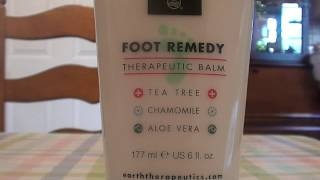Foot Repair Therapeutic Balm by Earth Therapeutics REVIEW tea tree chamomile aloe vera