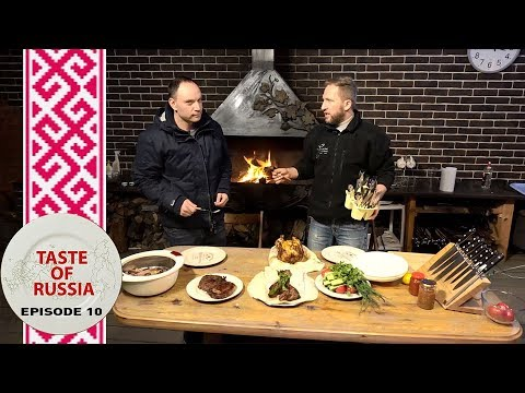 Battle of the BBQs: American steak vs. Russian shashlik - Taste of Russia Ep.10