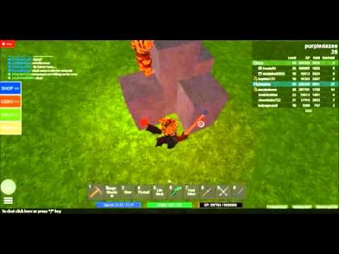Roblox Field of Battle How to Mine Gems - YouTube