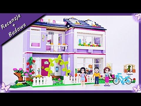 Domek Emmy / Emma's House - Budowanie klocków Lego Friends 41095
