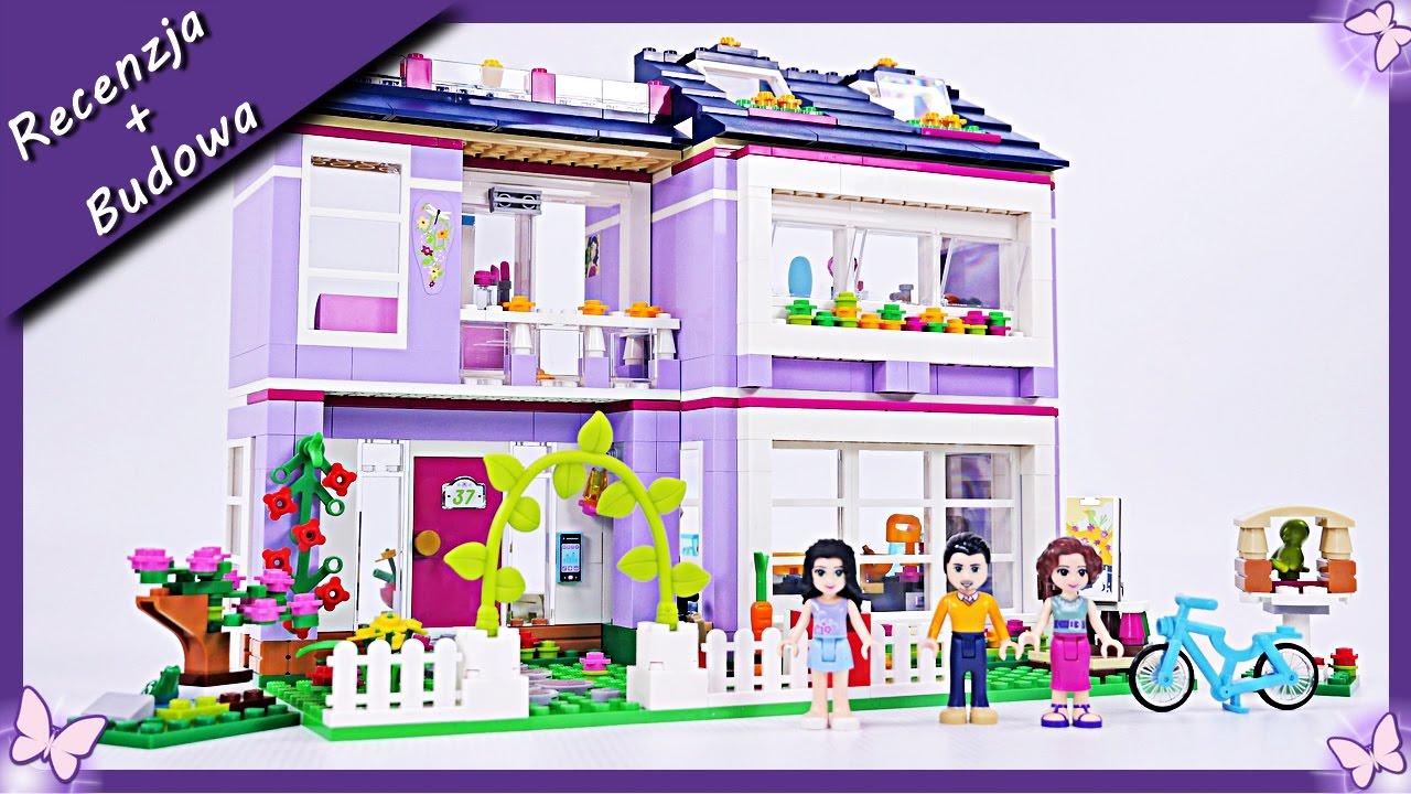 Domek Emmy Emmas House Budowanie Klocków Lego Friends 41095