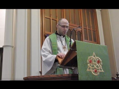 June 13 Sermon at Zion Lutheran Church