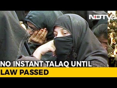 Instant Triple talaq Barred By Supreme Court Until Parliament Makes Law