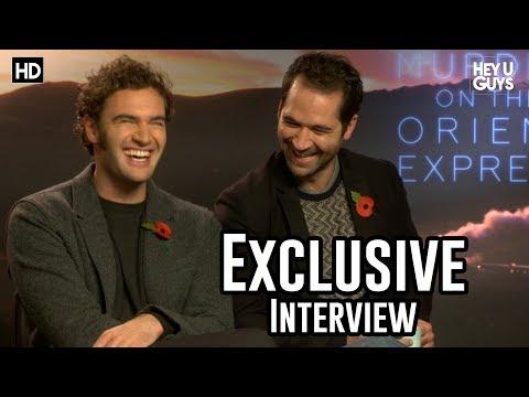 Tom Bateman & Manuel Garcia Rulfo | Murder on the Orient Express Exclusive Interview