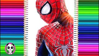 Dibujo a Spider-man Realista✍️How to draw realistic Spider-Man Drawing🕸️(Sam Raimi Suit)prismacolor