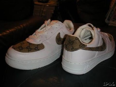 DIY GUCCI AIRFORCE 1S
