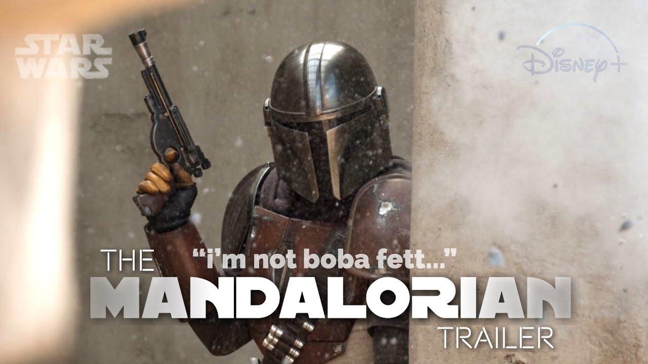 "star wars   the mandalorian ""i'm not boba fett... or am i?"""