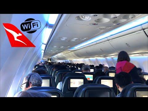 QANTAS B737 ECONOMY Class: QF766 Adelaide To Sydney (FREE WiFi!!)