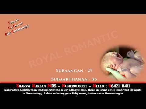 BOY BABY NAME STARTING WITH SU 11 - BEST BABY NAME, BUSINESS NAME NUMEROLOGY 9842111411