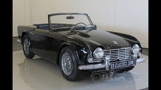 Triumph TR4 Roadster 1964 -VIDEO- www.ERclassics.com