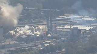 Emergency crews responded to a report of an explosion at eastman chemical company in kingsport, tennessee. this silent footage was captured by cbs affiliate ...