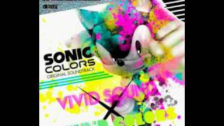 Sonic Colors Original Soundtrack - Cyan Laser