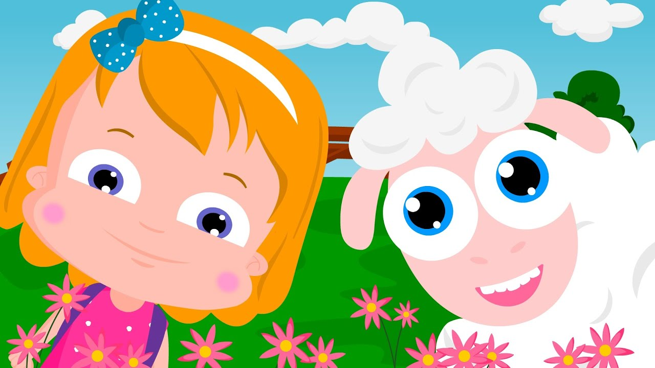 Baby Children Nursery Rhyme Song Mary Had A Little Lamb Nursery Rhymes Animal Rhymes For