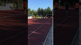 100 m uomini serie 9 FerraraMeeting 2017