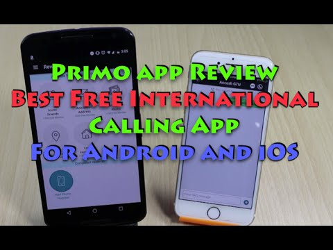 Primo App Review, Best Free International Calling App
