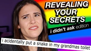 REVEALING YOUR SECRETS (I didn't ask Edition) | AYYDUBS