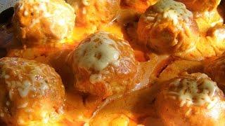 Тефтельки в томатно- сметанном соусе 🌝🌝🌝Рецепт детства!