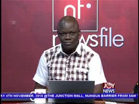 Newsfile Intro on JoyNews (13-10-18)
