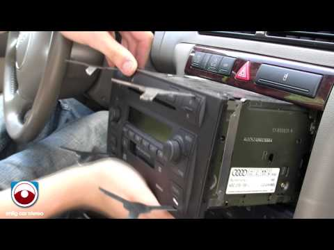 hqdefault 2002 2005 audi a6 allroad symphony ii radio removal youtube  at reclaimingppi.co