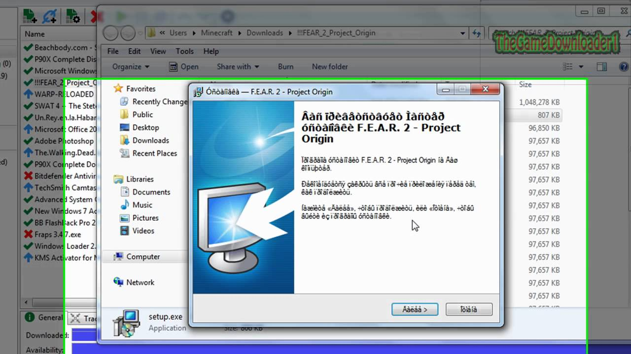 How to download and install fear 2 project origin youtube.