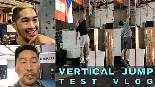 VERTICAL JUMP TEST VLOG (feat Josh & Donny)