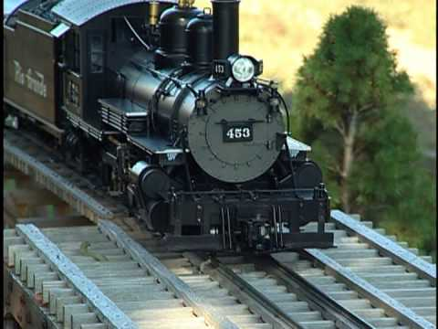 Bachmann Spectrum 1:20.3 Scale K-27 Steam locomotive model highlights.