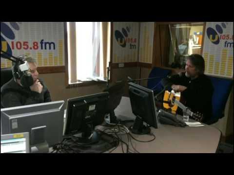 Anthony Toner performs live on U105 Drive
